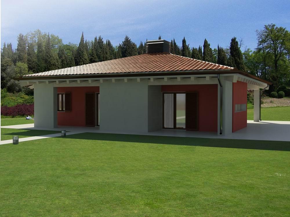 Rendering esterni presentazione 3d studio grafico - Colori esterni case moderne ...
